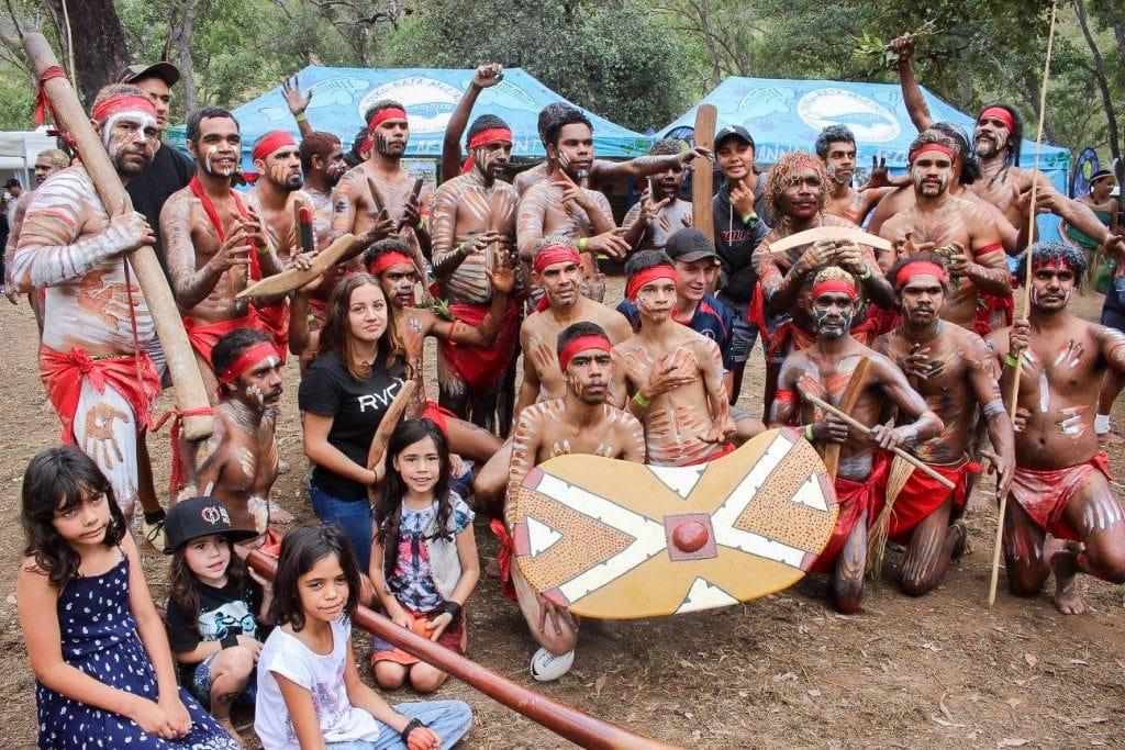 Australia for Kids: Aboriginal Dancers