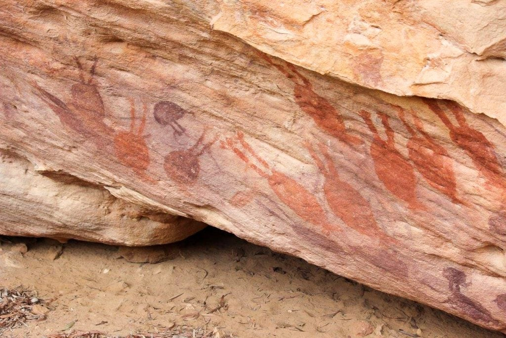Australia for Kids: Aboriginal rock art