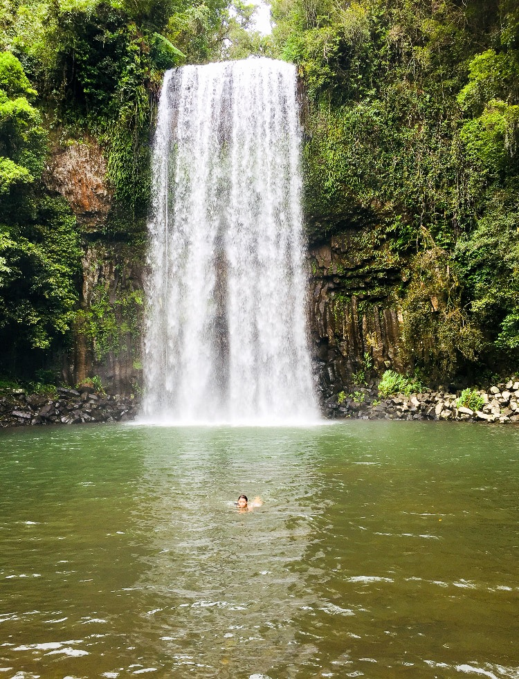 Australia for Kids: Millaa Millaa Falls