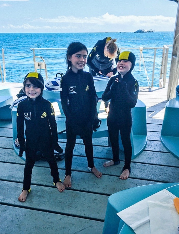 Australia for Kids: Ready to Snorkel