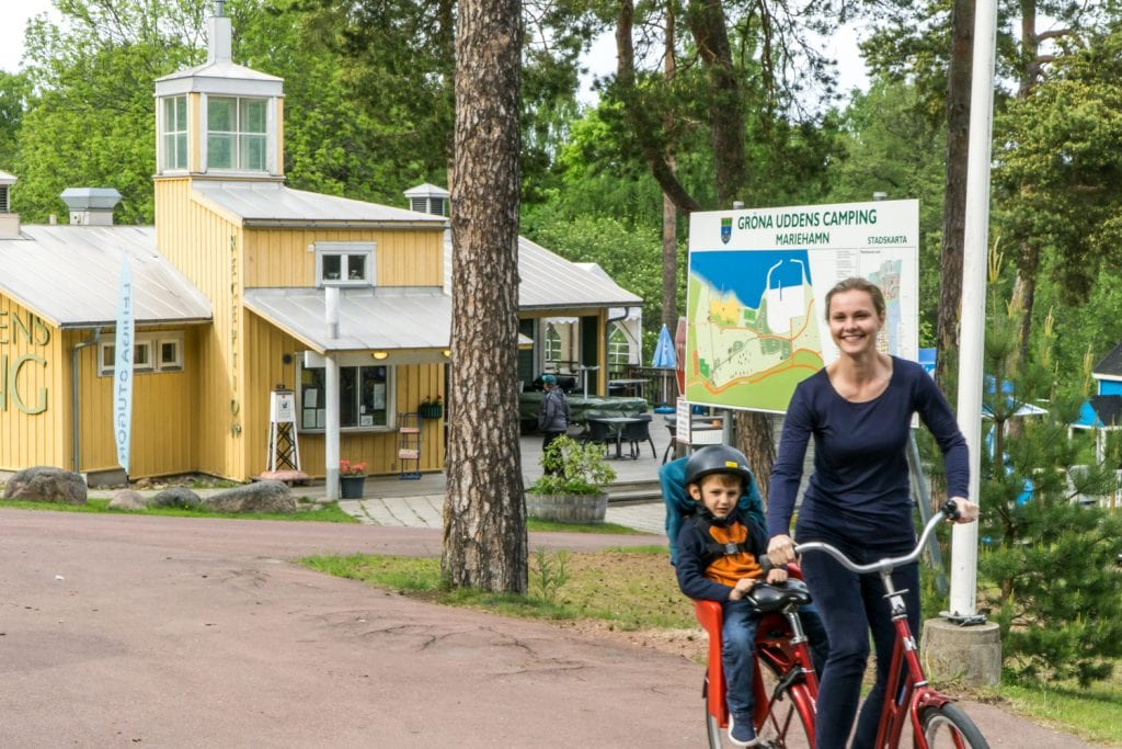 What to do in Finland with Kids: Riding bikes