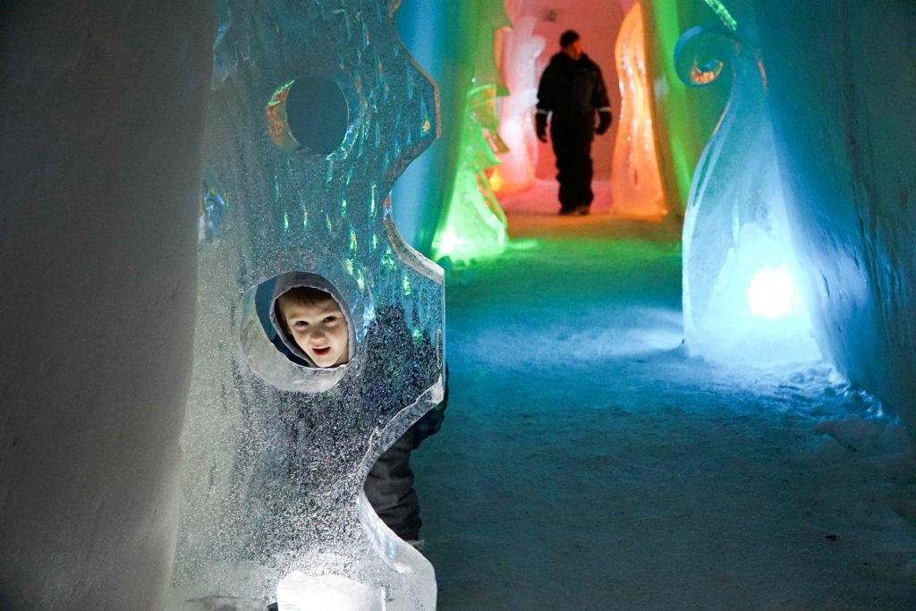 What to do in Finland with kids: Snow Hotel