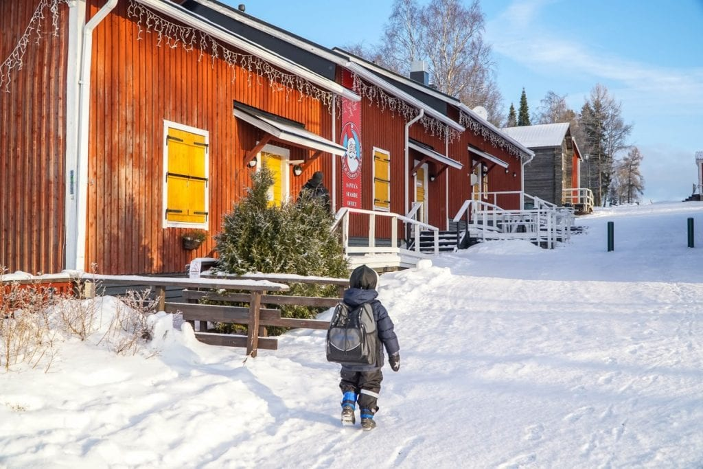 What to do in Finland with kids: Santa's Village