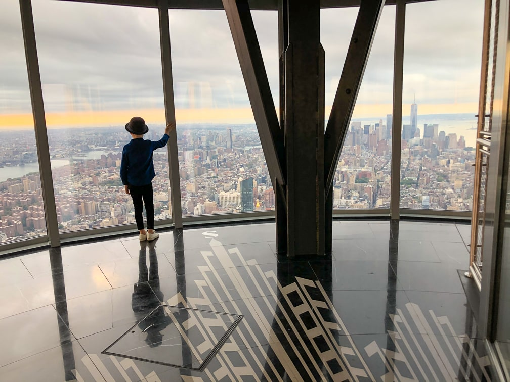 Things to do in NYC with Kids: One World Trade Observatory