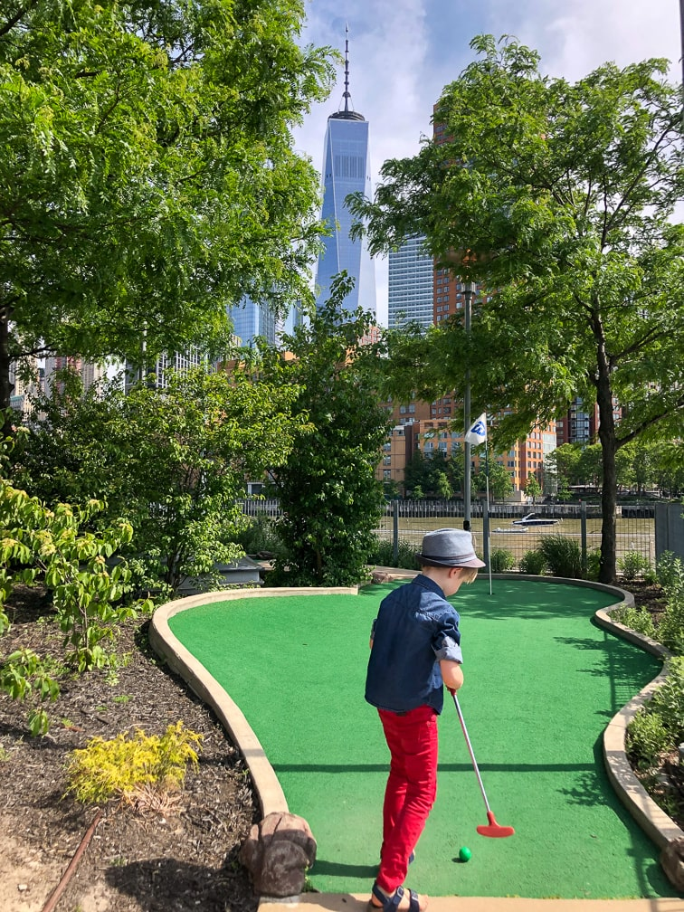 Things to do in NYC with Kids: Mini Golf