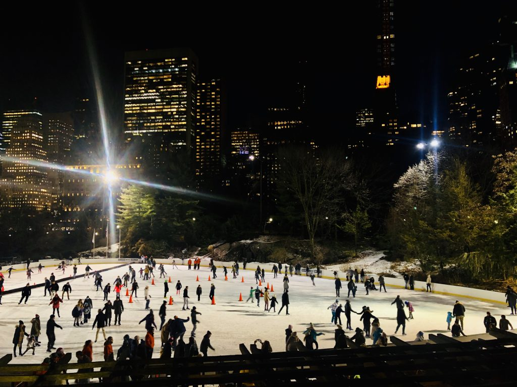 NYC for Kids: Skating at Wollman Rink in Central Park