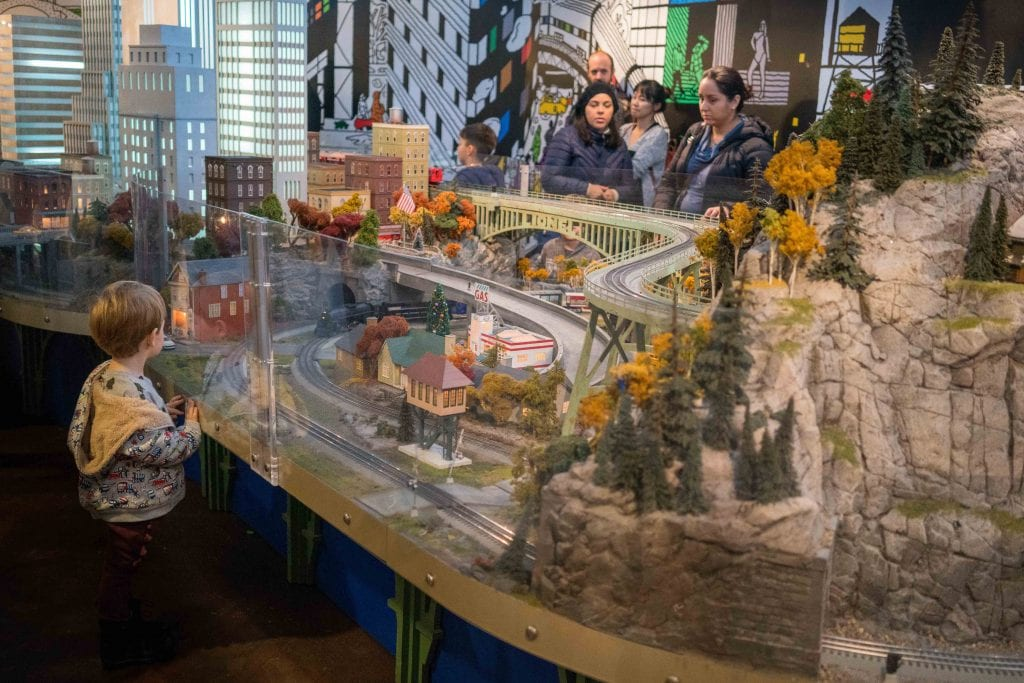 NYC for Kids: NY Transit Museum Holiday Train Show Grand Central Station
