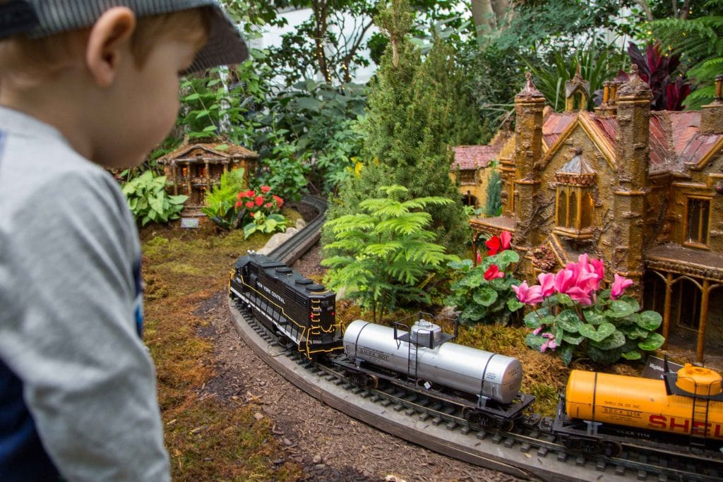 NYC for Kids: Miniatures Trains at NY Botanical Garden