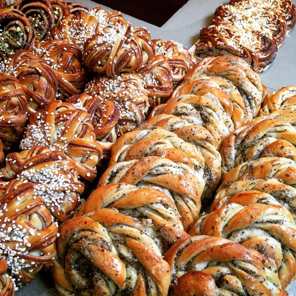 Things to do in Stockholm with kids: Cinnamon and Cardamom Buns