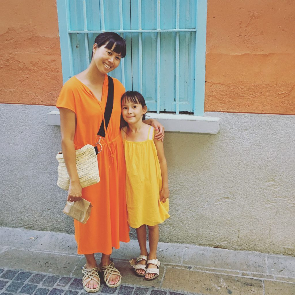 Things to do in Stockholm with kids: Emelie Cheng with her daughter