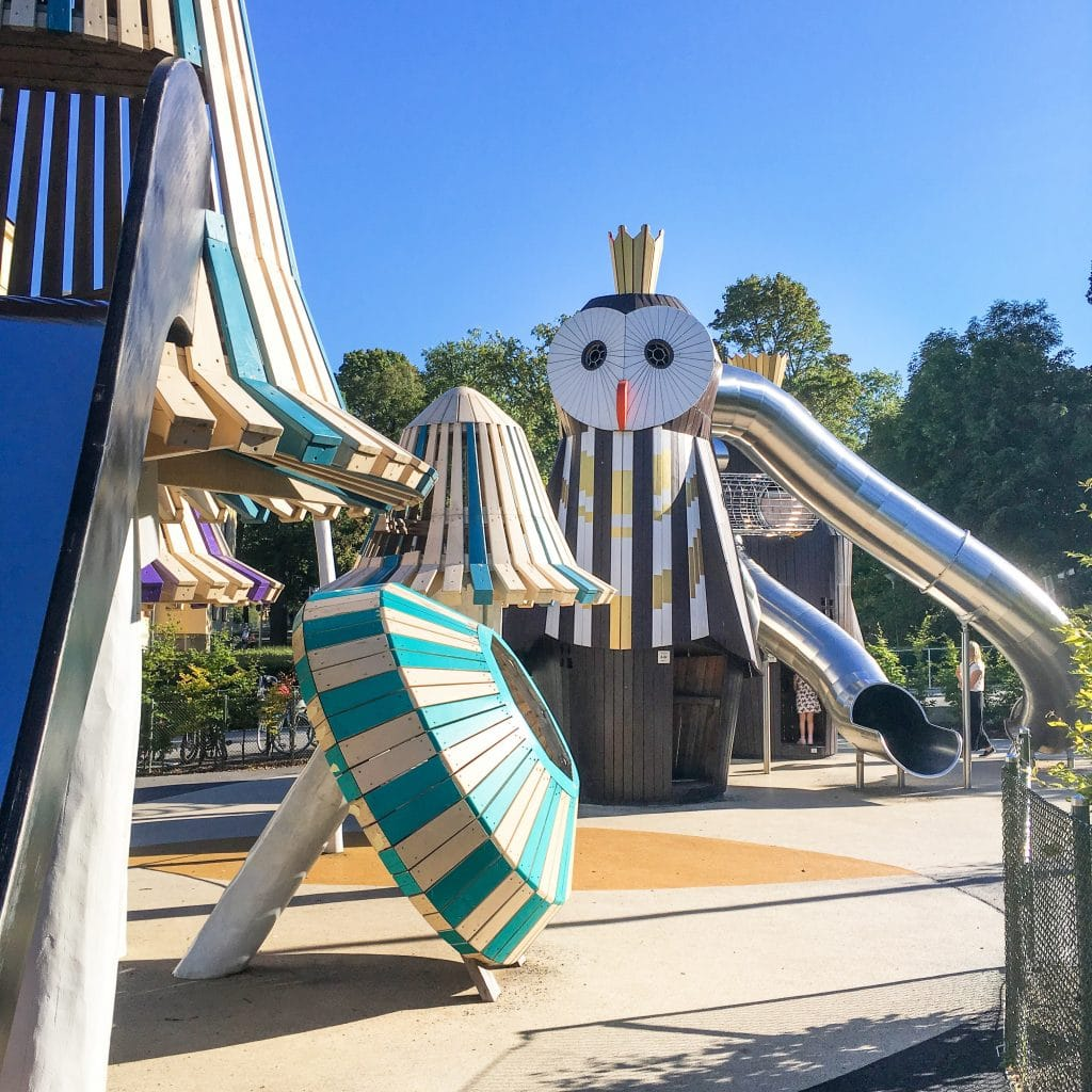 Things to do in Stockholm with kids_Uggleparken_playground