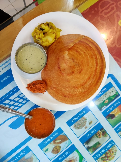 India for kids: Mysore masala dosa