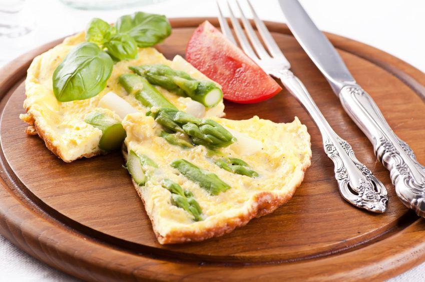 Amazing Asparagus Frittata