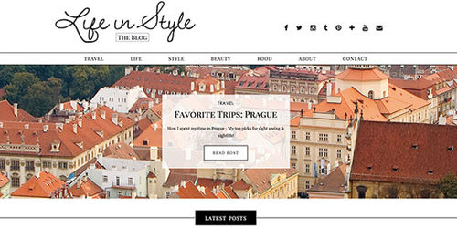 Life in style blog