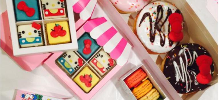 超萌Hello Kitty餐車來紐約了:全部都想要!