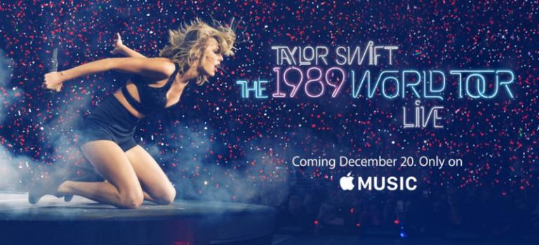 敵人變朋友!Taylor巡演紀錄片獨家登陸Apple Music