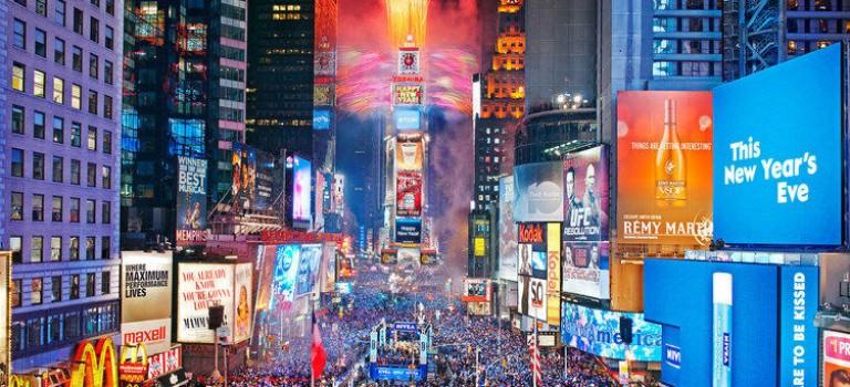 攻略:紐約跨年煙花最佳欣賞地點