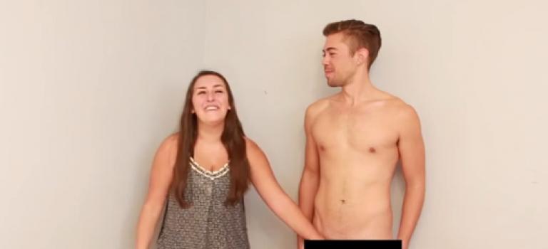 【視頻】蕾絲邊第一次接觸男性下體是這樣的…