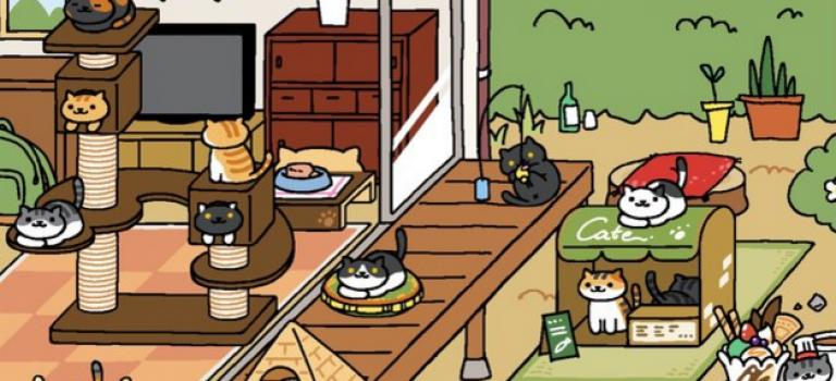 這麼萌的貓咪遊戲還沒玩你就OUT啦!!