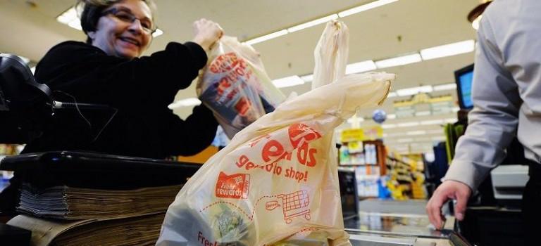 紐約塑料袋將收費,十月一日起開始執行