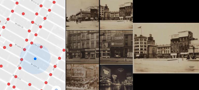這個APP輕鬆掃一掃~竟然把紐約的街道拉回100年前!