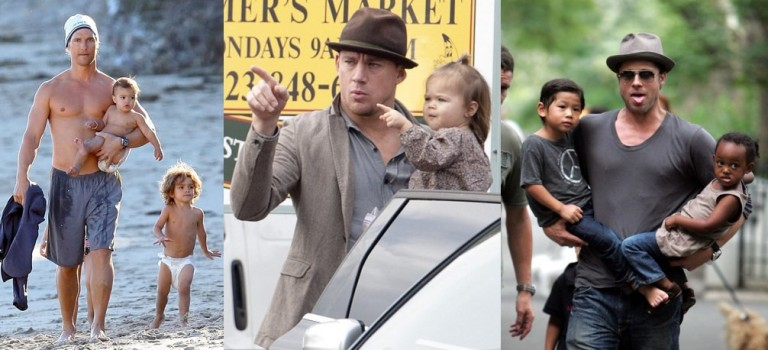 【父親節特輯】好萊塢最佳老爹盤點:有顏有肉有才更有愛!