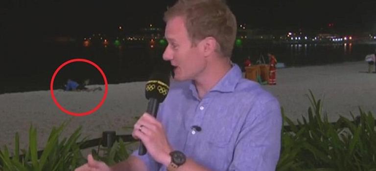 【視頻】尷尬了!記者直播新聞誤入陌生人XXOO畫面