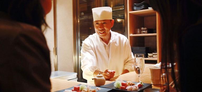 前米其林二星大廚新開日料餐廳:2017年初最讓人期待的品質日料!