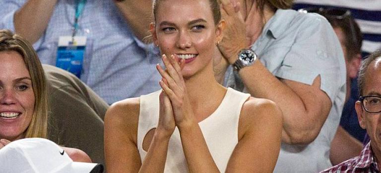 新生代幸運女神出爐!超模KK助陣澳網!坐哪邊哪邊就贏!