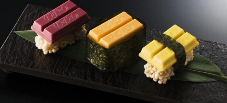 日本Kit Kat太逆天!推出Kit Kat巧克力脆條壽司