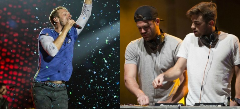 Coldplay和Chainsmokers合作出新单曲了!!!O'M'G