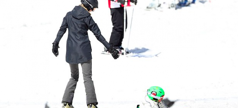 Ivanka一家滑雪之旅結束!網友看到這畫面都能吵!