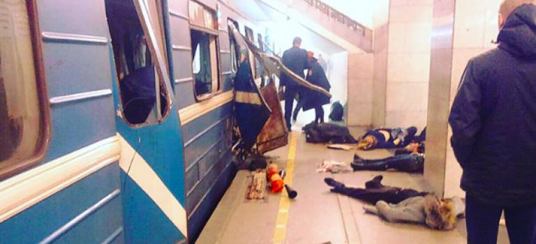 俄國聖彼得堡地鐵爆炸!官方確定為恐怖攻擊!造成至少10人死亡!