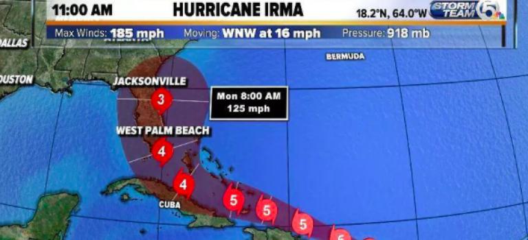佛州面臨史無前例的風暴!超強颶風來襲恐比德州災情嚴重!