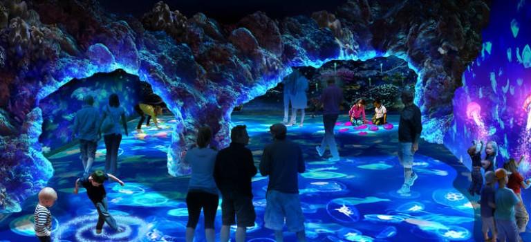 尖叫吧~~國家地理雜誌傾情打造海洋奇幻展!虛擬海洋也能讓你身臨其境、流連忘返~