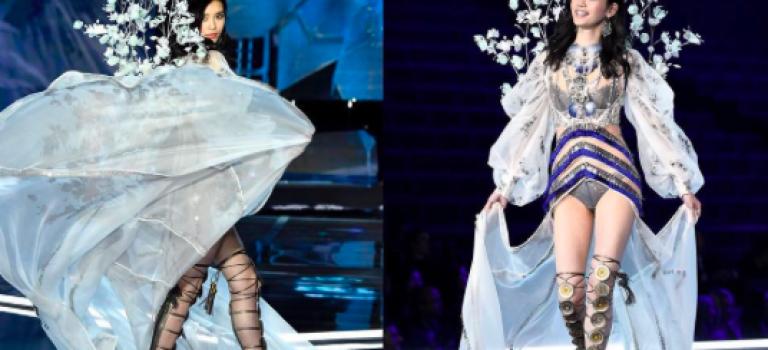 時尚專家狠批:奚夢瑤應變能力真的太糟糕!看看這些在維秘出錯的模特都怎麼漂亮挽救!