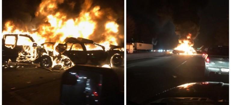 聖誕節前新澤西華人聚居地發生嚴重車禍:7車連環相撞起火,2人死亡