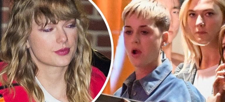 閨蜜情破裂了?泰勒絲好姐妹 KK 與 Katy Perry 親密晚餐約會!