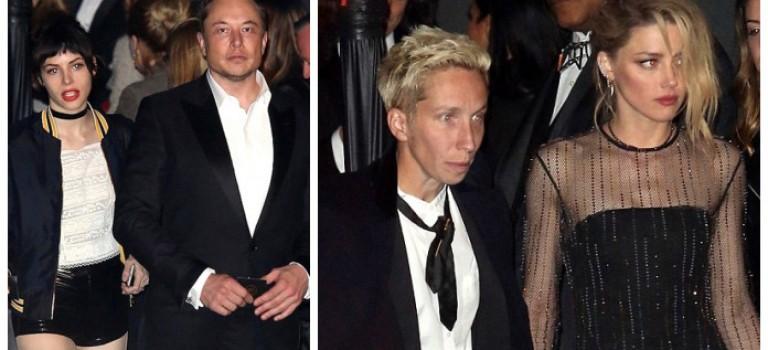 霸道總裁Elon Musk不認愛!各自攜伴參加奧斯卡,又鬧矛盾了?