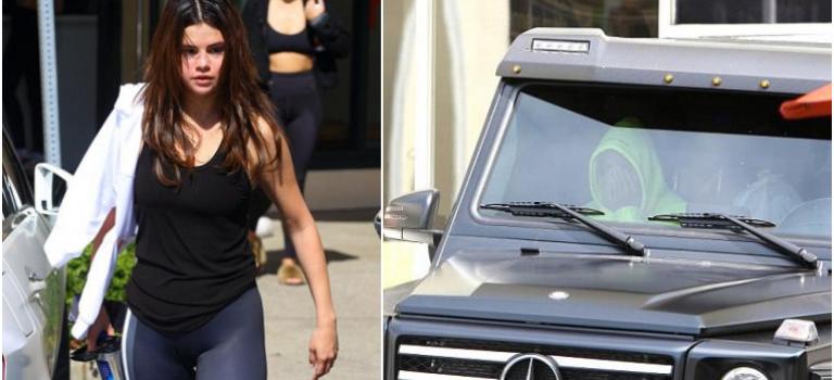 與Selena閃電分手小賈傷心難忍,被目擊在車上掩面哭泣?