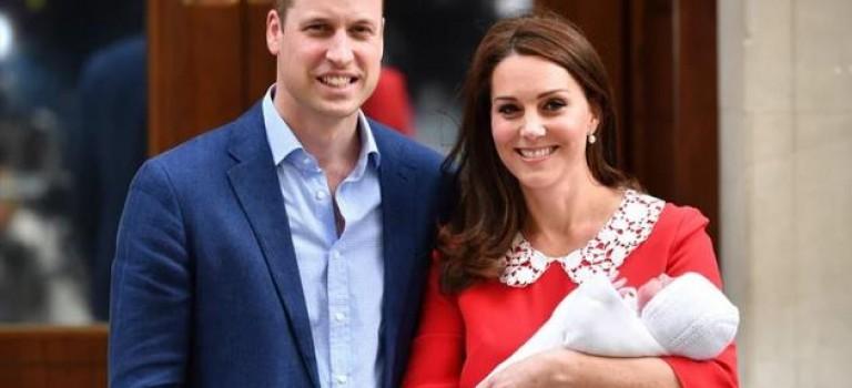 威廉王子夫婦小兒子名字確定了!王室頭銜同時公佈