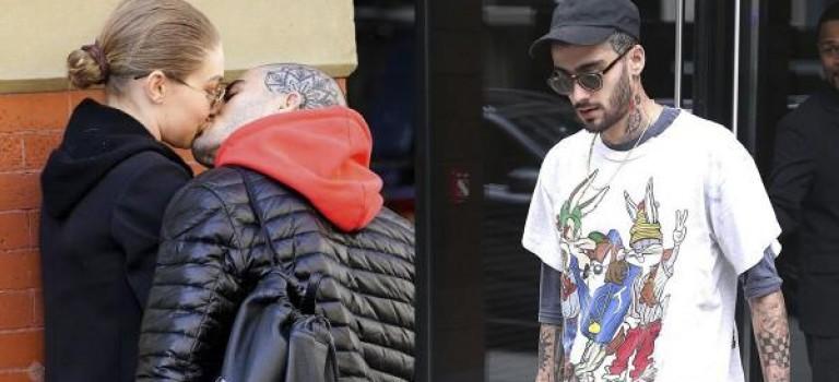 確定復合?!贊恩再次被爆從Gigi住所離開,兩人關係破朔迷離….