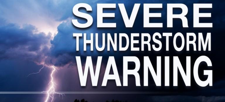 雷暴、龍捲風警告! 紐約今晚將大變天!