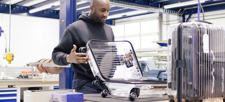 太扯了吧~Rimowa將和Off-White推出全透明行李箱!