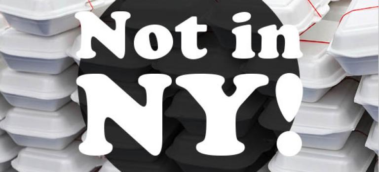 继塑料袋吸管之后,纽约将再禁泡沫餐具!你愿意为环保买单吗?