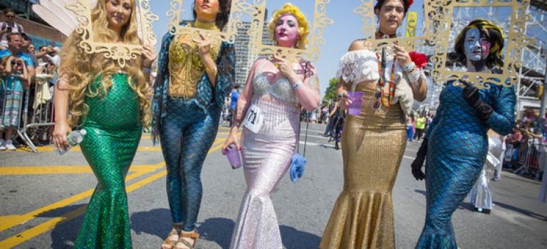美人鱼游行就在本周末,Coney Island走起!