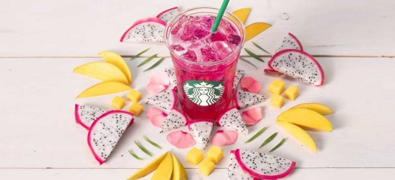 星巴克放大招:推出芒果+火龙果特饮,还有多种喝法!