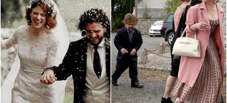 "戲外Happy Ending!Jon Snow和""野人女友""結婚現場曝光,太甜了~~"