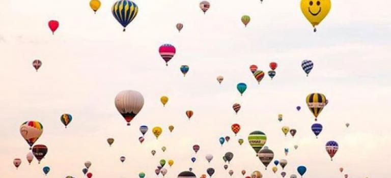 逃离纽约   哈德逊热气球节就在本周末,一起去看浪漫的天空吧!