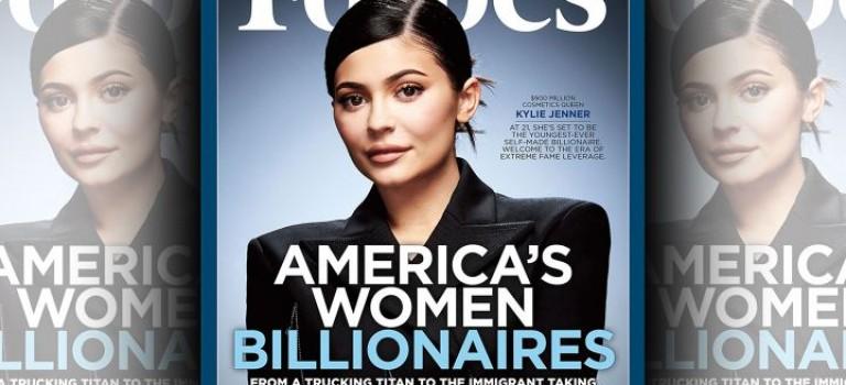 年僅20! Kylie Jenner三年狂賺9億美金等福布斯封面!